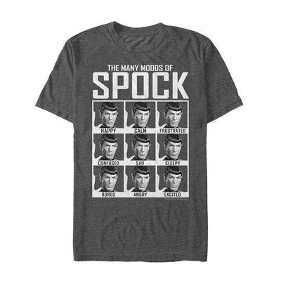 Star Trek: The Original Series Moods of Spock Graphic T-Shirt
