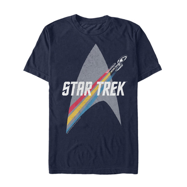 Star Trek: The Original Series Rainbow Delta Graphic T-Shirt