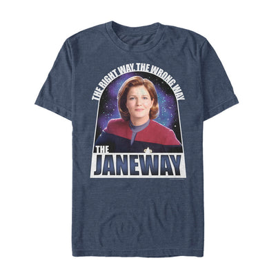 Star Trek: Voyager The Janeway The Right Way Premium T-Shirt
