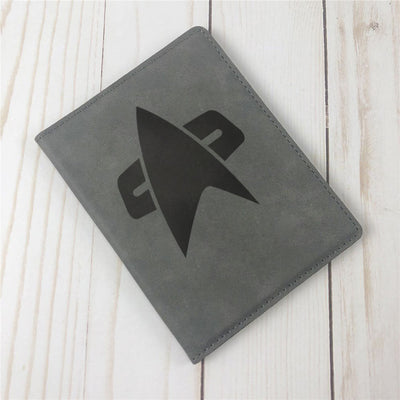 Star Trek: Voyager logo Passport Holder