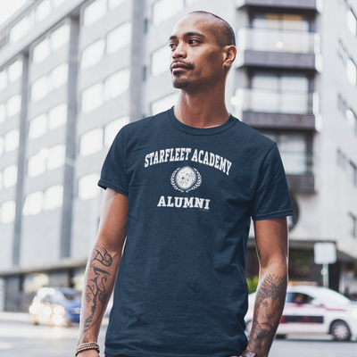 Star Trek Starfleet Academy Alumni Adult Short Sleeve T-Shirt