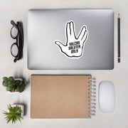Star Trek Vulcan Salutes Only Die Cut Sticker