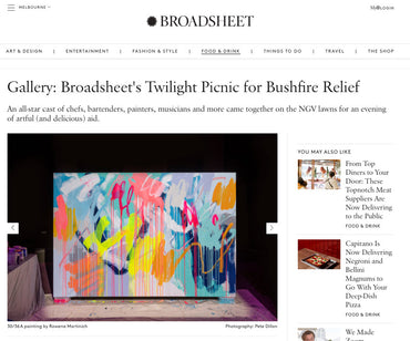 Broadsheet's Twilight Picnic for Bushfire Relief