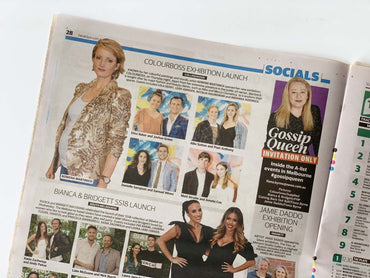 Sunday Herald Sun: Colourboss