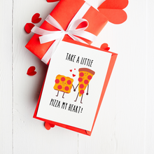 Load image into Gallery viewer, Pizza My Heart Valentine's Day Card