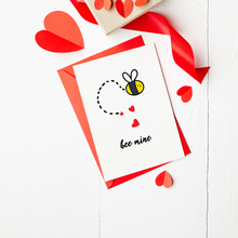 Load image into Gallery viewer, Bee Mine - Valentine's Day Card