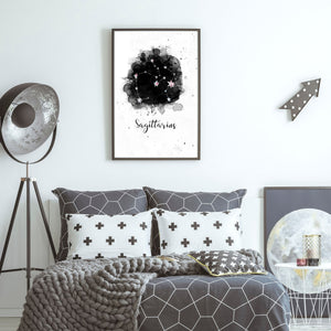 Astrology Zodiac Star Constellation print - wall art