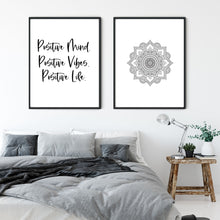 Load image into Gallery viewer, Positive Mind - Inspirational Print