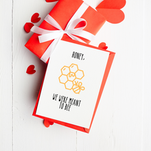 Load image into Gallery viewer, Meant to Bee - Valentine's Day Card