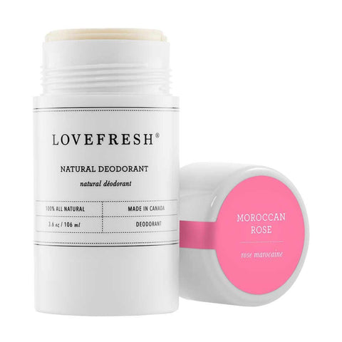 Natural Cream Deodorant - Moroccan Rose Absolute