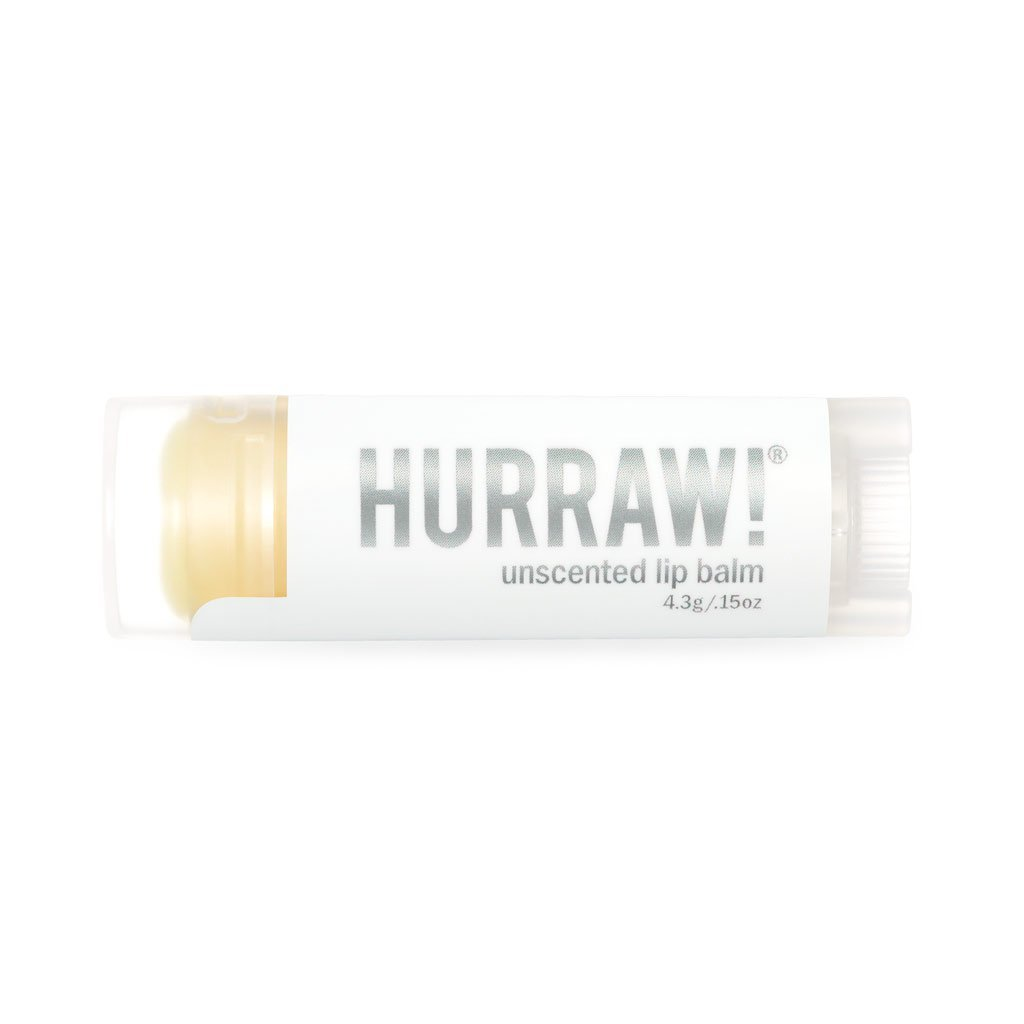 Hurraw! Unscented Lip Balm (Hajusteeton)