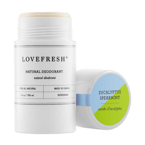 Natural Cream Deodorant - Eucalyptus/Spearmint