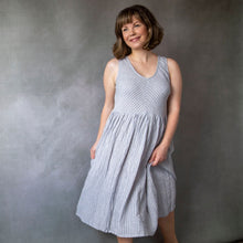 Elloise Stripe Linen Dress