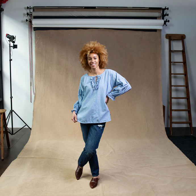 Fluer Dress - Khaki Linen