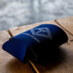 Support Live Music Koozie