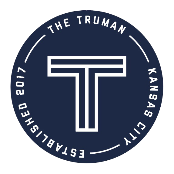 The Truman Est. 2017 Sticker - Navy