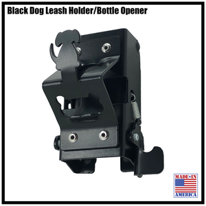 Dog Leash Holder, with bonus Bottle Opener