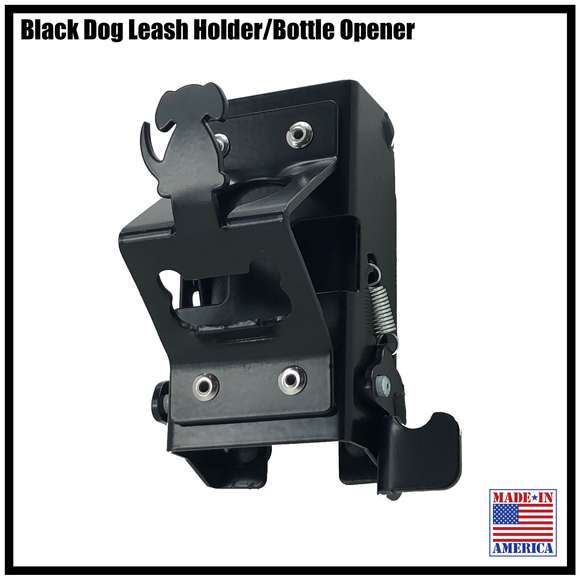 DOG LEASH HOLDER W/ BOTTLE OPENER KIT  (COMES WITH A KEBLOC)