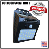 SOLAR LIGHT OUTDOOR, 42 LED, 3 MODES (NO KEBLOC INCLUDED)