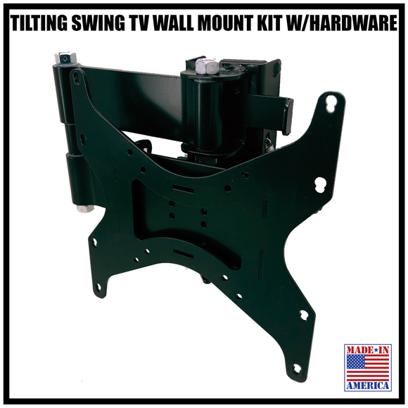 TILTING SWING TV WALL MOUNT KIT (NO KEBLOC INCLUDED)