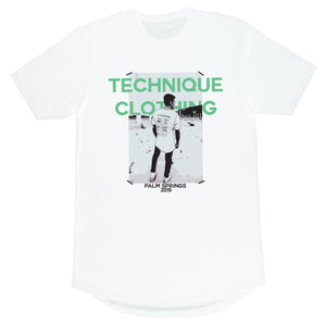 PALM SPRINGS TEE - Technique Clothing