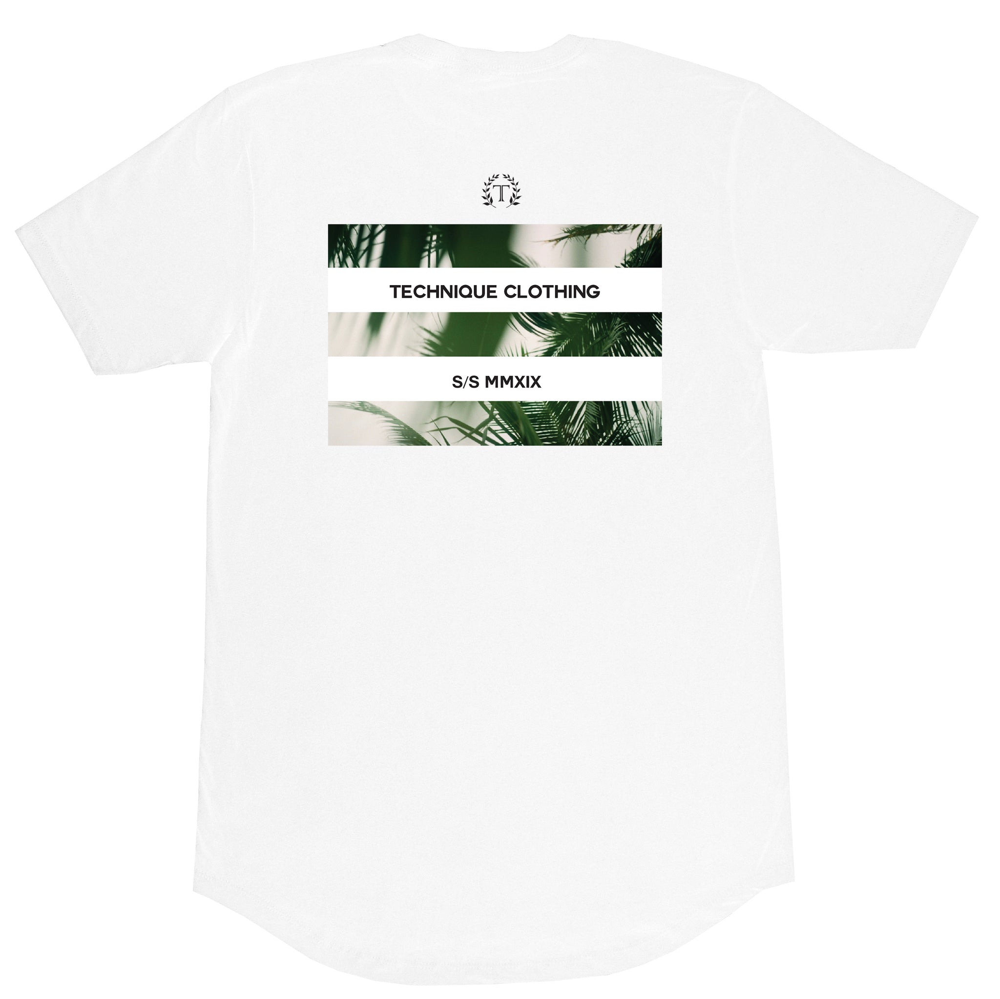 PALM TEE WHITE - Technique Clothing