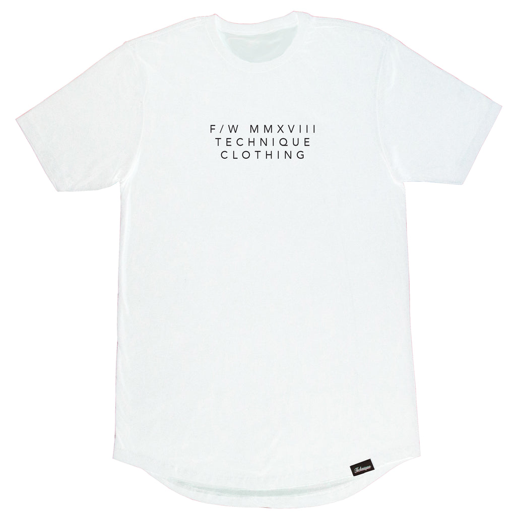 ROMAN NUMERALS - TEE - Technique Clothing