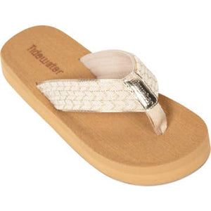 North Beach Gold Sandal