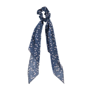 Patterned Scarf Scrunchie