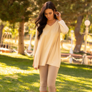 Essential V-Neck Tunic