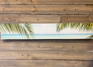 Palm Leaves Canvas