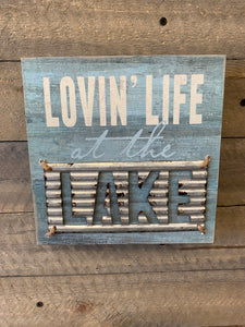 Loving Lake Wall Decor