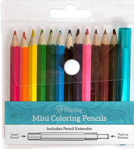 Mini Coloring Pencils