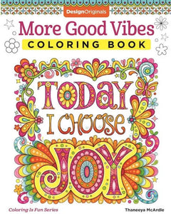 More Good Vibes Coloring Book