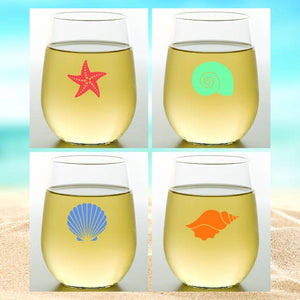 Shatterproof Wine Glasses 4 pack