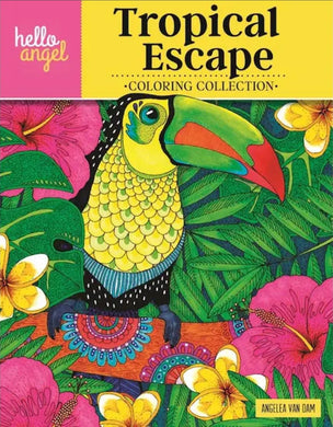 Tropical Escape Coloring Book
