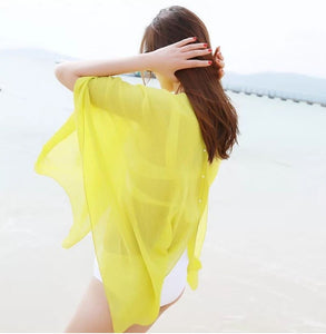 Chiffon Poncho and Cover-up