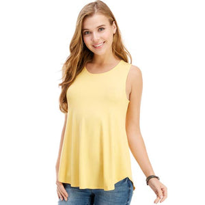 Casual Sleeveless Top