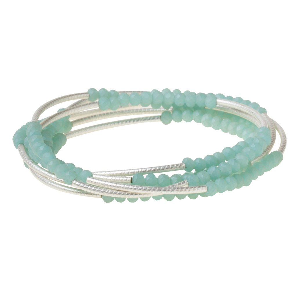 Scout Wrap Turquoise Matte Silver