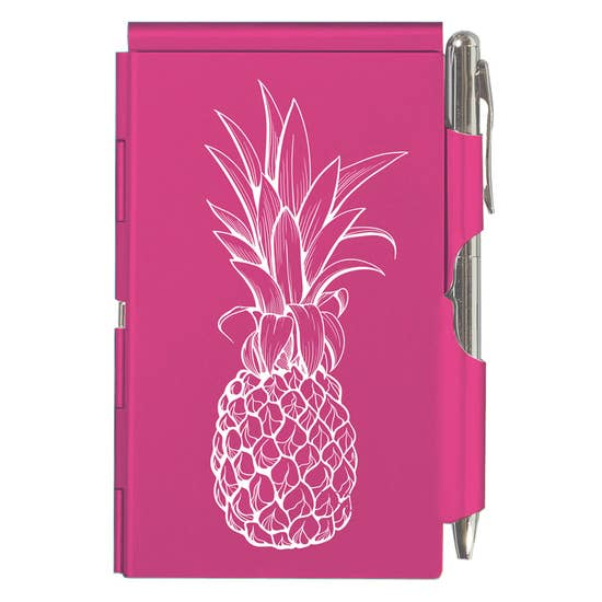 Pink Pineapple Flip Note