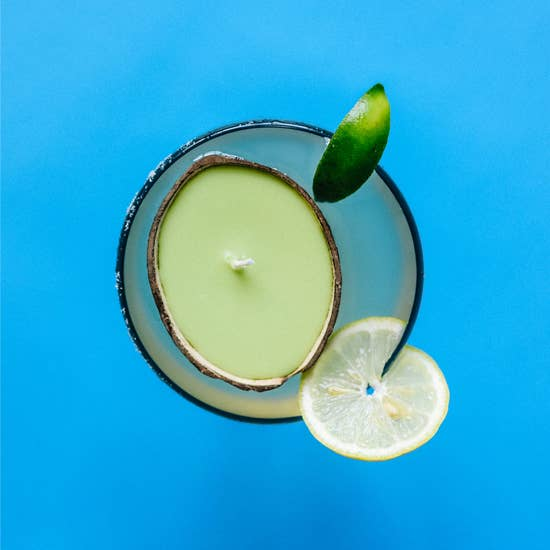Coconut Shell Candle - Margarita