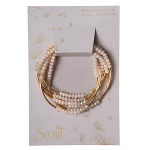 Scout Wrap Ivory combo/gold