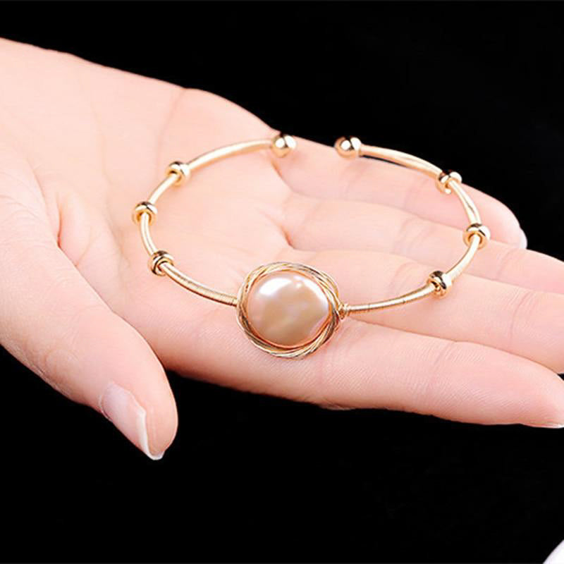 Pearl Wrapped Cuff