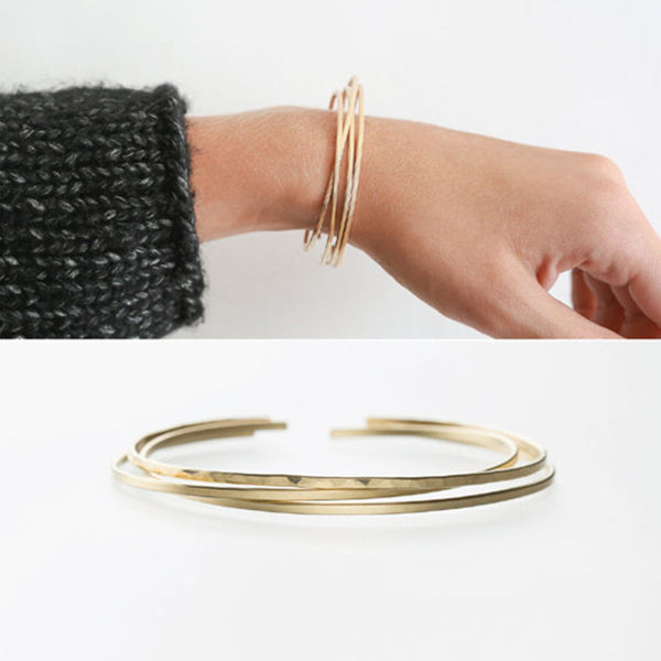 Groove Two Piece Bracelets