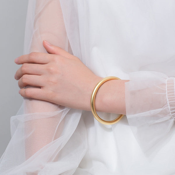 Large Gold Bangle