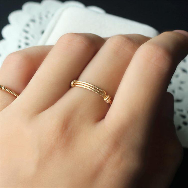Knotted Rope Ring