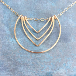 Cut Arrow Necklace