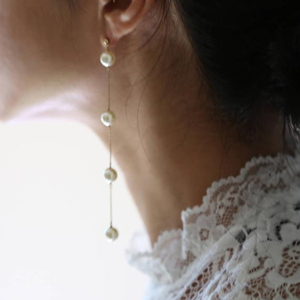 Pearl Dot Earrings