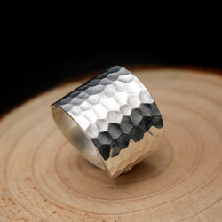 Rippled Wrap Ring
