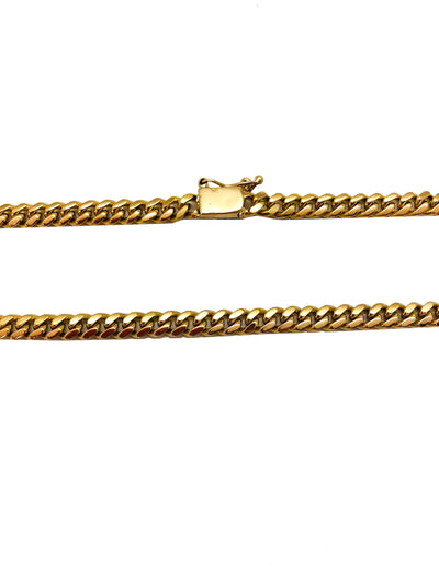 Cuban Link Chain (14K Gold)